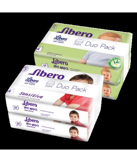 Libero nedves törlőkendő Duo Pack