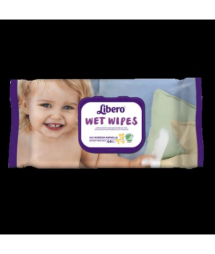 Libero prémium nedves törlőkendő