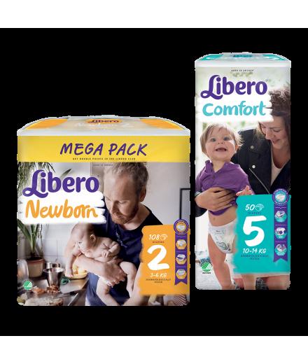 Libero Newborn és Comfort pelenka