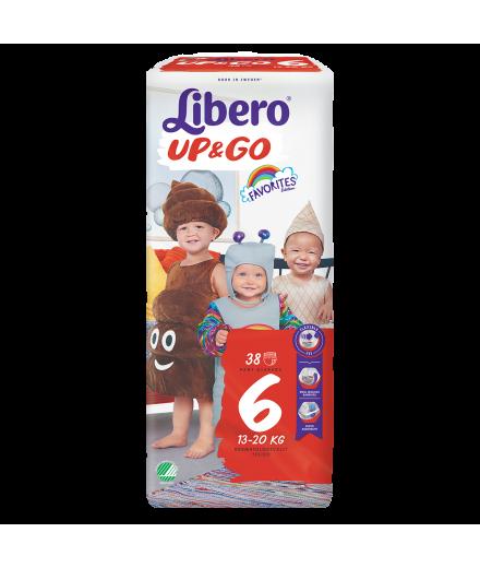 Libero Up&Go Jumbo Pack pelenka