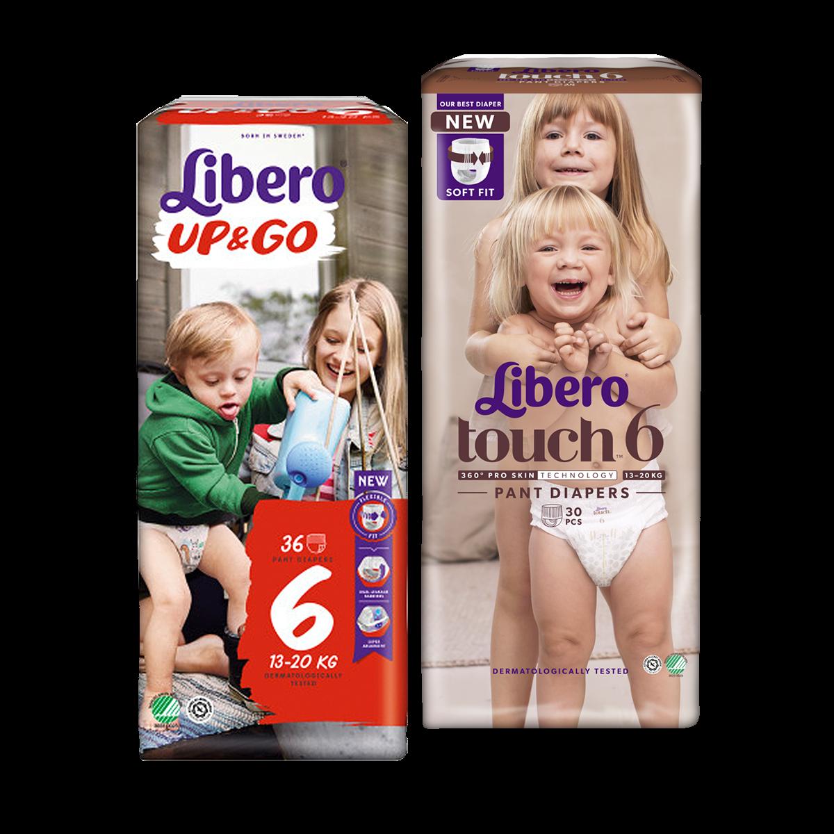 Libero Up&Go és Touch bugyipelenkák
