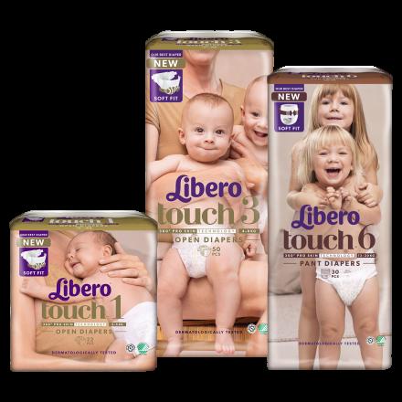 Libero Touch pelenkacsomagokra