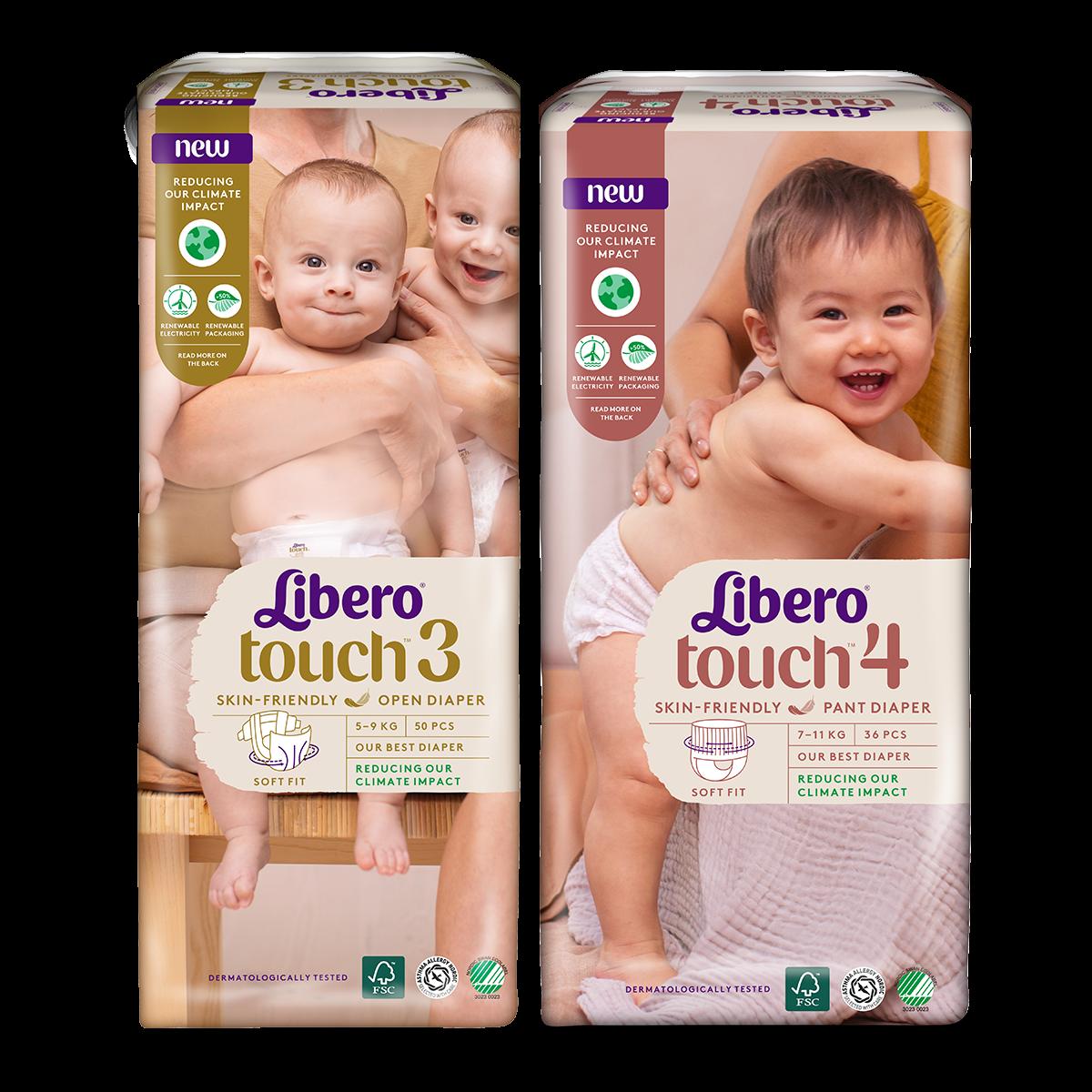 kedvezmény Libero Touch pelenkacsomagokra