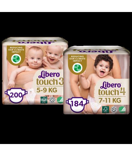 Libero Touch havi pelenkacsomagokra